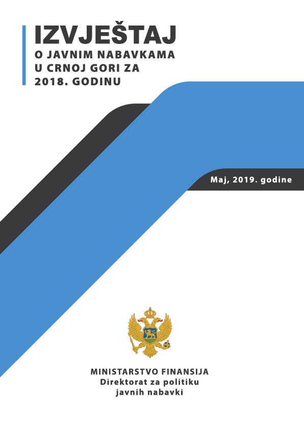 Godišnji Izvještaj o javnim nabavkama u CG za 2018. godinu
