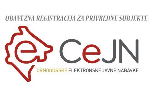 OBAVJEŠTENJE ZA PRIVREDNE SUBJEKTE – registracija na elektronski sistem javnih nabavki